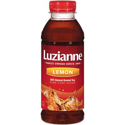 Luzianne Lemon Tea 16 Oz Plastic Bottle