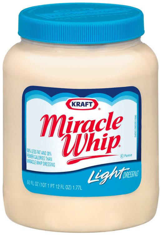 kraft miracle whip light dressing reviews