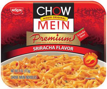 Nissin® Premium Sriracha Flavor Chow Mein Noodles 4 oz. Tray