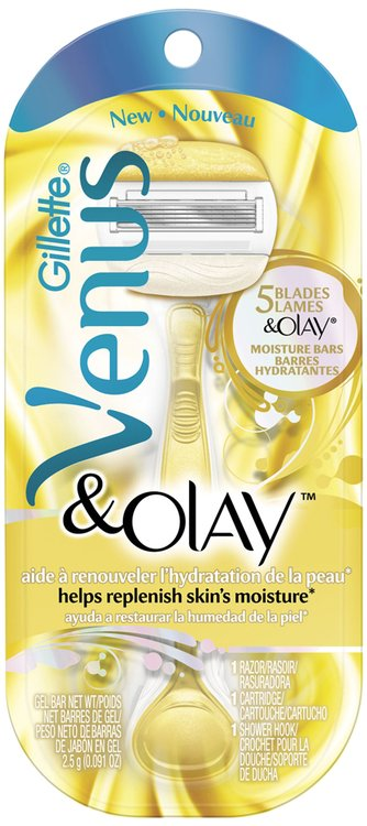 Gillette® Venus & Olay™ Razor with Cartridge Package