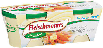 Fleischmann's Unsalted 60% Whipped 11.8 Oz Tubs Vegetable Oil Spread 2 Ct Sleeve