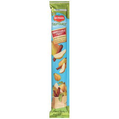 Del Monte® Fruit Burst Pear-Cinnamon Squeezable Fruit