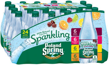 Poland Spring® Variety Pack Sparkling Natural Spring Water 24-.5L Bottles