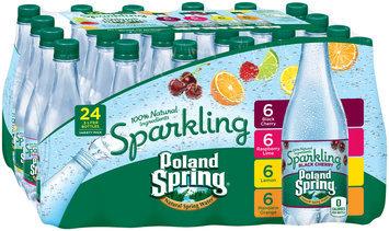 Poland Spring® Variety Pack Sparkling Natural Spring Water 24-.5L Bottles