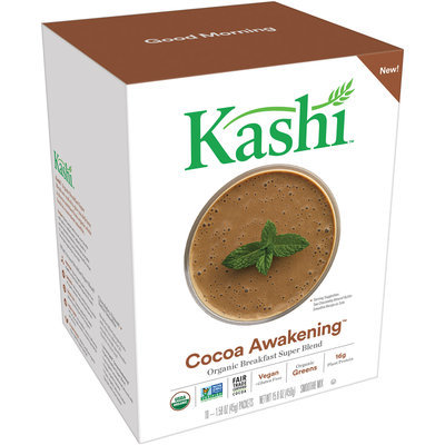 Kashi™ Cocoa Awakening™ Organic Breakfast Super Blend Smoothie Mix 10-1.58 oz. Packets