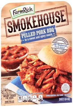 Farm Rich® Smokehouse™ Pulled Pork BBQ 20 oz. Tray