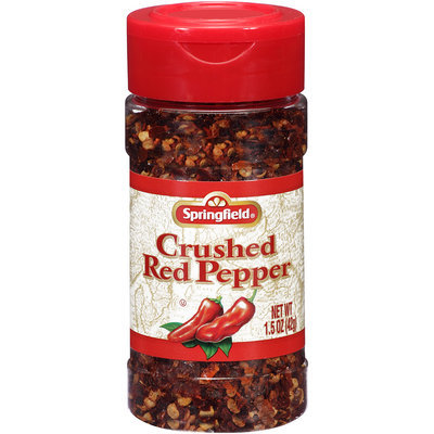 Springfield® Crushed Red Pepper 1.5 oz Shaker