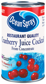 Ocean Spray Cranberry Restaurant Quality Juice Cocktail 46 Oz Can