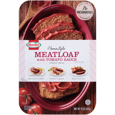 Hormel®   Homestyle Meatloaf with Tomato Sauce 15 oz. Tray