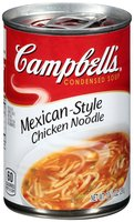 Campbell's® Mexican-Style Chicken Noodle Condensed Soup 10.5 oz. Can