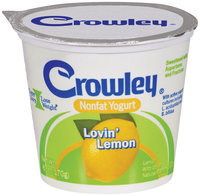 Crowley® Nonfat Yogurt Lovin' Lemon 6 oz.