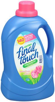 Ultra Final Touch® Spring Fresh Concentrated Fabric Softener 120 fl. oz. Bottle