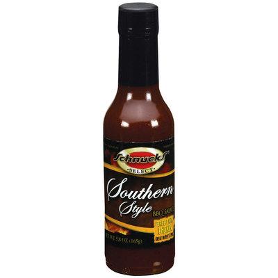 Schnucks Southern Style BBQ Sauce 5.8 Oz Glass Bottle