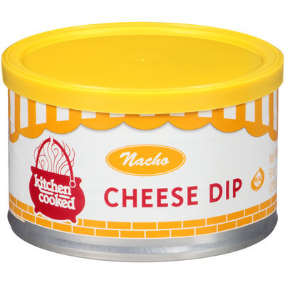 Kitchen Cooked Nacho Cheese Dip 9 oz. Canister