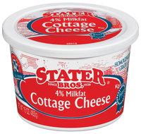 Stater Bros. 4% Milkfat Cottage Cheese 16 Oz Tub