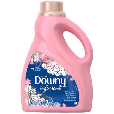 Downy® Ultra Infusions Honey Flower Liquid Fabric Softener 83 fl. oz. Plastic Jug
