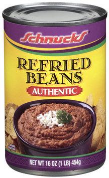 Schnucks Refried Beans 16 Oz Can