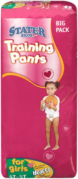 Stater Bros.® Training Pants for Girls 4T-5T 38+ lbs. 42 ct. Bag