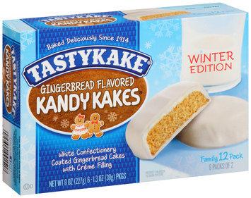 Tastykake® Winter Edition Gingerbread Flavored Kandy Kakes® 6- 1.3 oz. Box