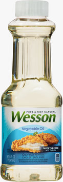 Wesson® Pure 100% Natural Vegetable Oil 16 fl. oz. Bottle