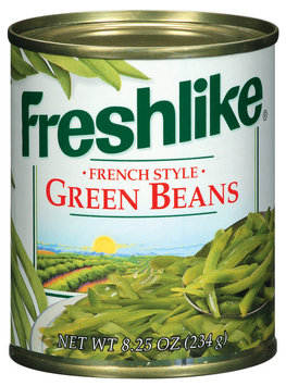 Freshlike French Style Green Beans 8.25 Oz Can
