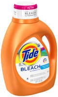 Tide Plus Bleach Alternative Clean Breeze Scent Liquid Laundry Detergent 69 fl. oz. Bottle