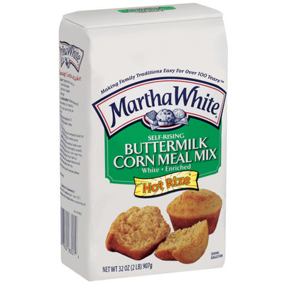 Martha White Buttermilk Self-Rising White Enriched W/Hot Rize Corn Meal Mix