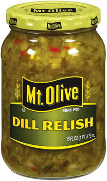 Mt. Olive Dill Relish 16 Oz Jar