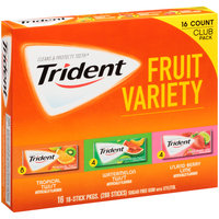 Trident Sugar Free Gum with Xylitol Fruit Variety