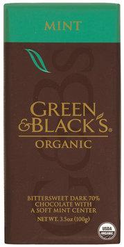 Green & Black's King Bars Bittersweet Dark 70% W/Soft Mint Center Organic Chocolate