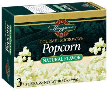 Haggen Gourmet Microwave 3 Ct Popcorn 10.5 Oz Box