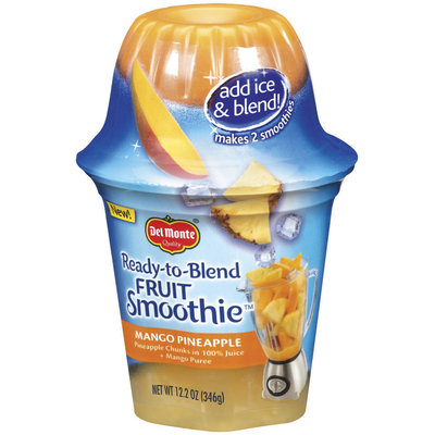 Del Monte® Ready-to-Blend Mango Pineapple Fruit Smoothie
