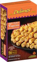 Delimex® White Meat Chicken Taquitos 56 oz. Box