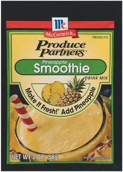 Produce Partners Pineapple Smoothie Drink Mix 2 Oz Peg