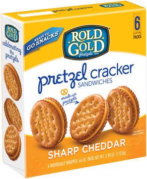 Rold Gold® Sharp Cheddar Pretzel Cracker Sandwiches