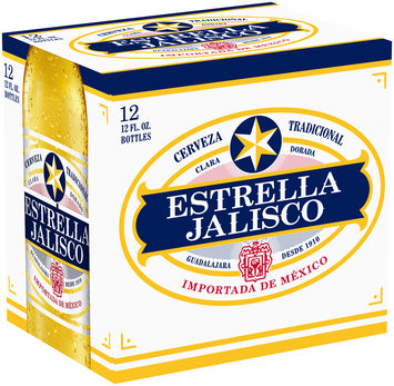 Estrella Jalisco Cerveza 12-12 fl. oz. Glass Bottles