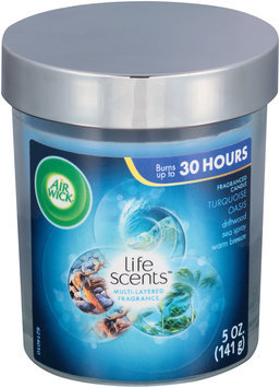 Air Wick® Life Scents™ Turquoise Oasis Fragranced Candle