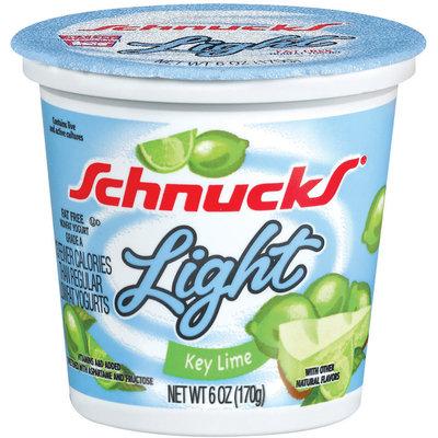 Schnucks Key Lime Light Yogurt 6 Oz Cup