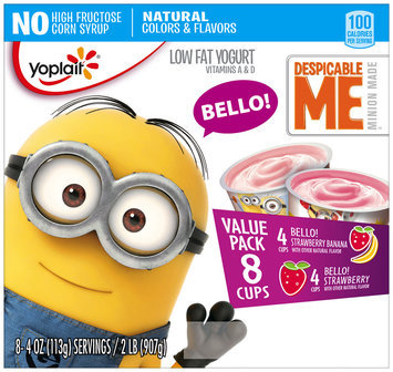 Yoplait® Despicable Me™ Bello! Strawberry Banana Low Fat Yogurt