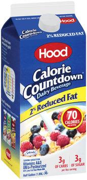 HOOD Calorie Countdown 2% Reduced Fat Dairy Beverage .5 GAL CARTON