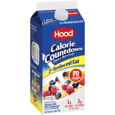 HOOD Calorie Countdown 2% Reduced Fat Dairy Beverage .5 GAL CARTON