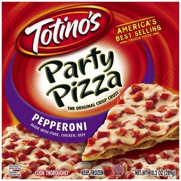 Totino's® Pepperoni Party Pizza® 10.2 oz. Box