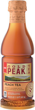 Gold Peak® Peach Tea 18.5 fl oz. Plastic Bottle