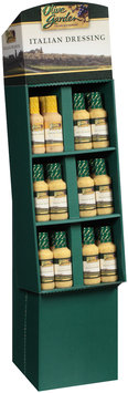 Olive Garden® Italian/Light Italian Dressing 36 ct Corrugated Display