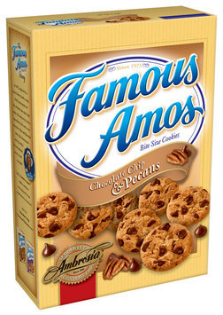 Famous Amos® Bite Size Chocolate Chip & Pecans Cookies