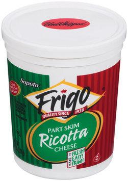 Frigo® Ricotta Part Skim Unwhipped Cheese 5 Lb Tub
