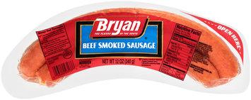Bryan® Beef Smoked Sausage 12 oz. Wrapper