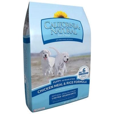 California Natural® Chicken Meal & Rice Formula Puppy Food 30 lb. Bag
