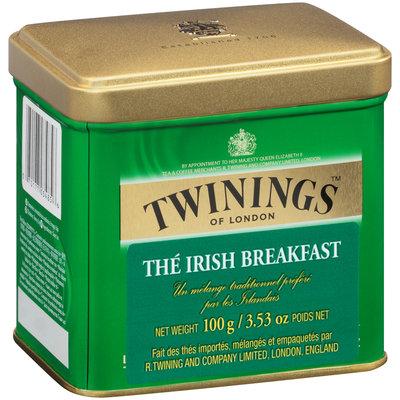 Twinings of London™ Classics Irish Breakfast Tea 3.53 oz. Tin