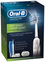 Oral-B Professional™ Deep Sweep™ plus SmartGuide™ Triaction 5500™ Rechargeable Electric Toothbrush